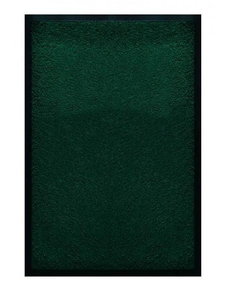 TAPIS D'ACCUEIL - NYLON UNI VERT FONCÉ - Rectangulaire 60 x 90cm