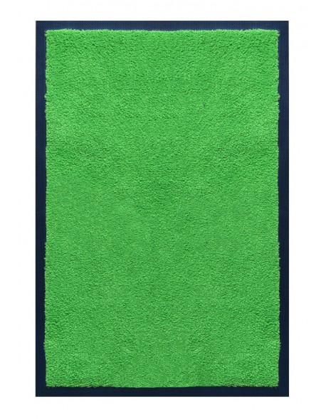 TAPIS D'ACCUEIL - NYLON UNI VERT POMME - Rectangulaire 60 x 90cm