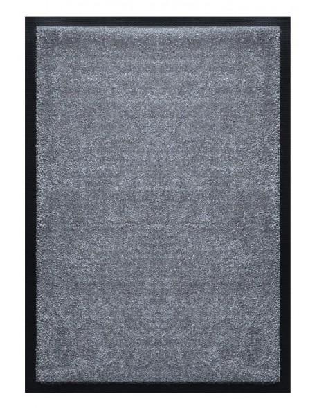 TAPIS D'ACCUEIL - NYLON UNI GRIS FONCÉ - Rectangulaire 60 x 90cm