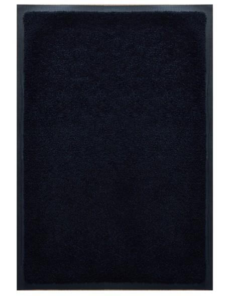 TAPIS D'ACCUEIL - NYLON UNI NOIR - Rectangulaire 60 x 90cm