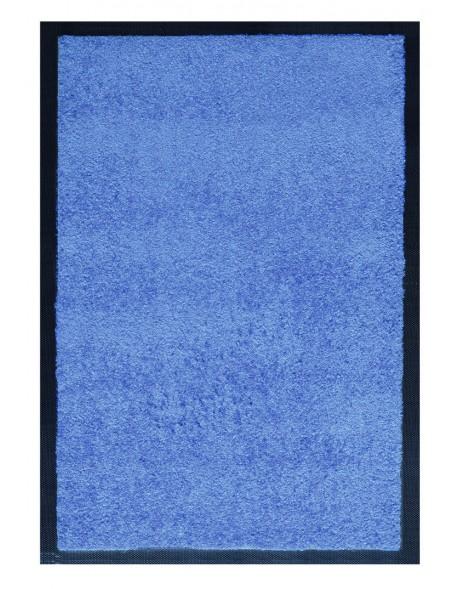 TAPIS D'ACCUEIL - NYLON UNI BLEU CLAIR - Rectangulaire 60 x 90cm