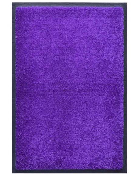 TAPIS D'ACCUEIL - NYLON UNI BLEU REFLETS VIOLET - Rectangulaire 60 x 90cm