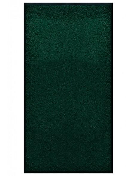 TAPIS PRESTIGE D'INTÉRIEUR - Fibre nylon uni vert foncé - Rectangulaire 120x240cm