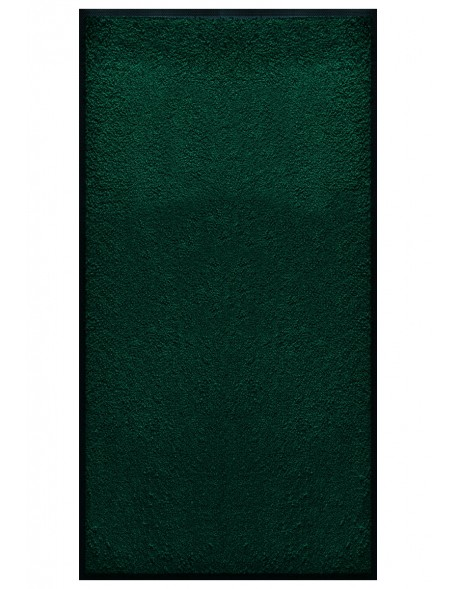 TAPIS PREMIUM - Fibre nylon uni vert foncé - Rectangulaire 120x240cm
