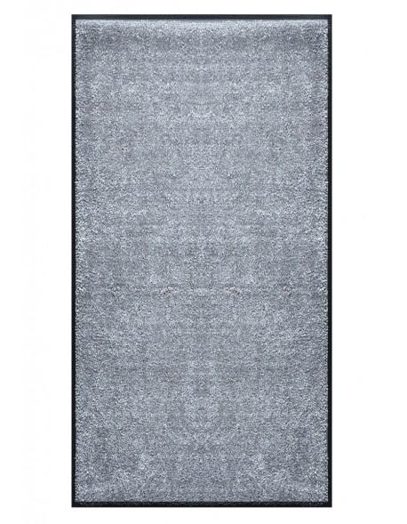 TAPIS PRESTIGE D'INTÉRIEUR - Fibre nylon uni gris clair - Rectangulaire 120x240cm