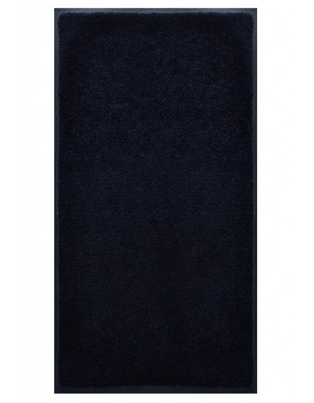 TAPIS PREMIUM - Fibre nylon uni noir - Rectangulaire 120x240cm