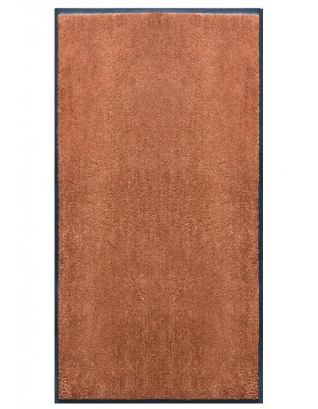 Nouveau TAPIS PRESTIGE Du0027INTÉRIEUR   Fibre Nylon Uni Marron Clair    Rectangulaire 120x240cm