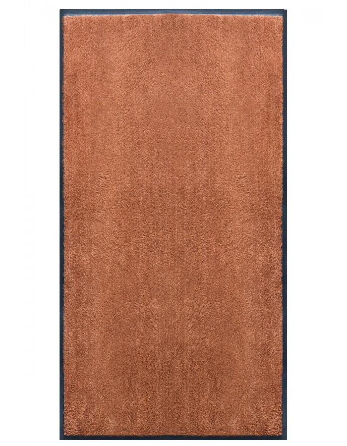 Tapis Prestige d\'intérieur uni uni marron caramel rectangulaire ...