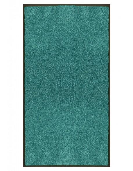 TAPIS PREMIUM - Fibre nylon uni turquoise - Rectangulaire 120x240cm