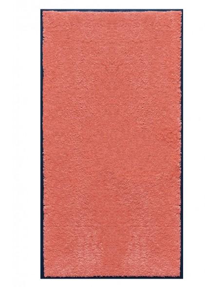 TAPIS PREMIUM - Fibre nylon uni saumon - Rectangulaire 120x240cm