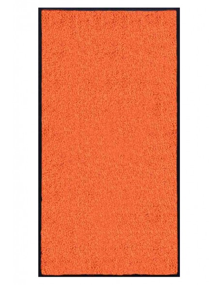 TAPIS PREMIUM - Fibre nylon uni orange - Rectangulaire 120x240cm