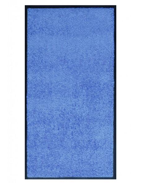 TAPIS PRESTIGE D'INTÉRIEUR - Fibre nylon uni bleu clair - Rectangulaire 120x240cm
