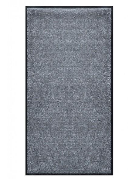 TAPIS PRESTIGE D'INTÉRIEUR - Fibre nylon uni gris foncé - Rectangulaire 120x240cm
