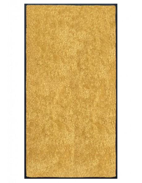 TAPIS PREMIUM - Fibre nylon uni jaune pamplemousse - Rectangulaire 120x240cm