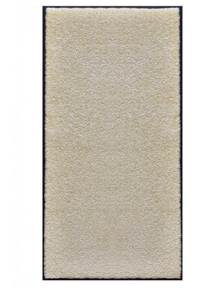 TAPIS PRESTIGE D'INTÉRIEUR - Fibre nylon uni blanc cassé - Rectangulaire 120x240cm