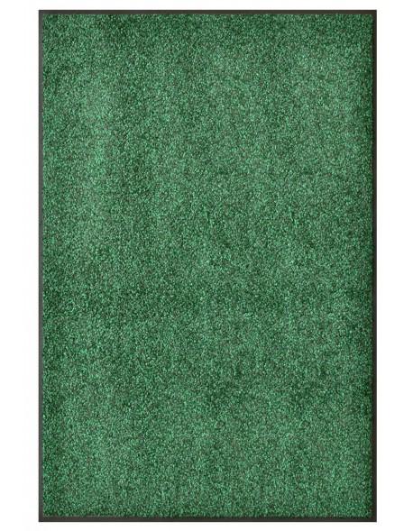 TAPIS PREMIUM - Fibre nylon vert chiné - Rectangulaire 120x180cm