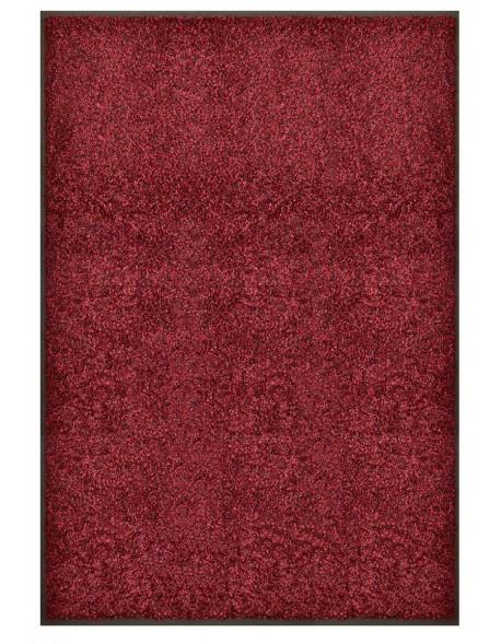 TAPIS PREMIUM - Fibre nylon bordeaux chiné - rectangulaire 120x180cm