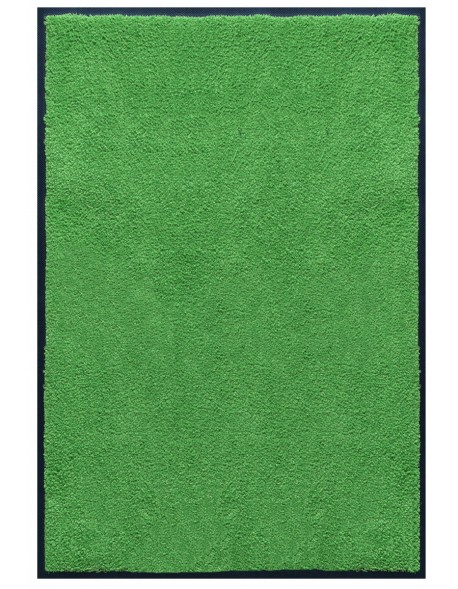 TAPIS PREMIUM - Fibre nylon uni vert pomme - Rectangulaire 120x180cm