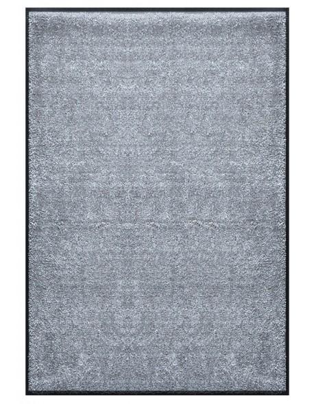 TAPIS PREMIUM - Fibre nylon uni gris clair - Rectangulaire 120x180cm