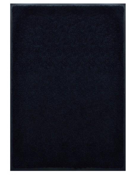 TAPIS PREMIUM - Fibre nylon uni noir - Rectangulaire 120x180cm