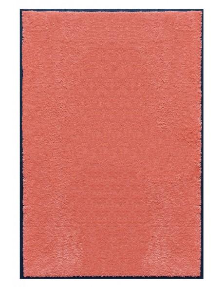 TAPIS PREMIUM - Fibre nylon uni saumon - Rectangulaire 120x180cm
