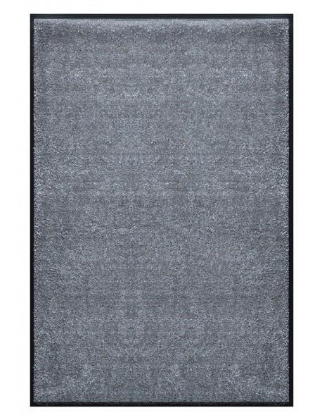 TAPIS PREMIUM - Fibre nylon uni gris foncé - Rectangulaire 120x180cm