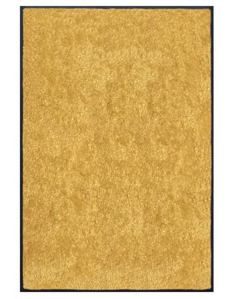 TAPIS PREMIUM - Fibre nylon uni jaune pamplemousse - Rectangulaire 120x180cm