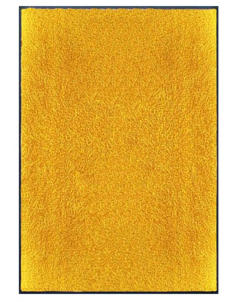 TAPIS PREMIUM - Fibre nylon uni jaune orangé - Rectangulaire 120x180cm