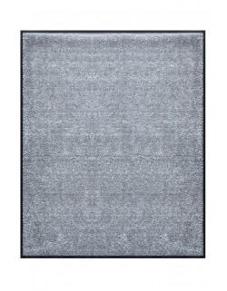 TAPIS DE PORTE D'ENTRÉE - NYLON UNI GRIS CLAIR - Rectangulaire 80 x 90cm