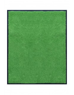 TAPIS DE PORTE D'ENTRÉE - NYLON UNI VERT POMME - Rectangulaire 80 x 90cm