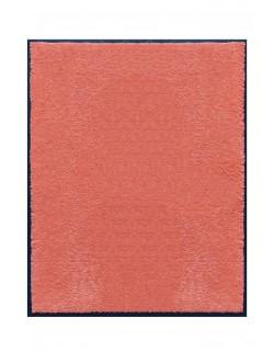 TAPIS DE PORTE D'ENTRÉE - NYLON UNI SAUMON - Rectangulaire 80 x 90cm