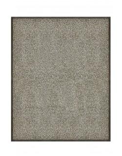 TAPIS DE PORTE D'ENTRÉE - NYLON GRIS CHINÉ - Rectangulaire 80 x 90cm