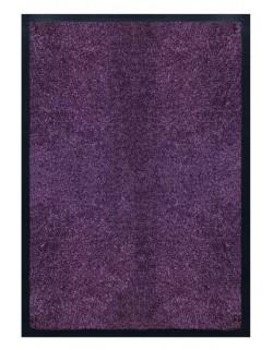 PAILLASSON Haut-de-gamme - Nylon uni violet - Rectangulaire 50 x 75cm