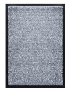 PAILLASSON Haut-de-gamme - Nylon uni gris clair - Rectangulaire 50 x 75cm