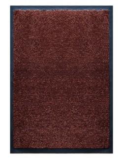 PAILLASSON Haut-de-gamme - Nylon marron foncé - Rectangulaire 50 x 75cm