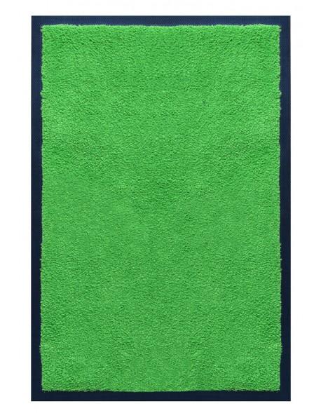 PAILLASSON Haut-de-gamme - Nylon uni vert pomme - Rectangulaire 50 x 75cm