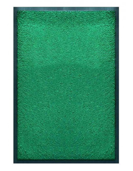PAILLASSON Haut-de-gamme - Nylon uni vert clair - Rectangulaire 50 x 75cm