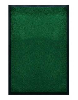 PAILLASSON Haut-de-gamme - Nylon uni vert foncé - Rectangulaire 50 x 75cm
