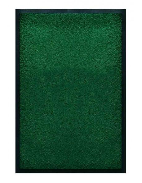 PAILLASSON Haut-de-gamme - Nylon uni vert - Rectangulaire 50 x 75cm