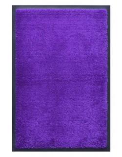PAILLASSON Haut-de-gamme - Nylon uni bleu violet - Rectangulaire 50 x 75cm