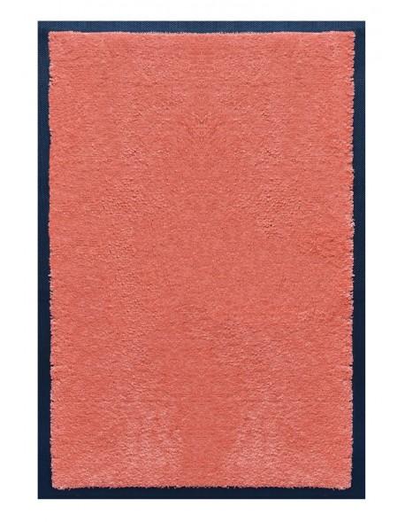 PAILLASSON Haut-de-gamme - Nylon uni saumon - Rectangulaire 50 x 75cm