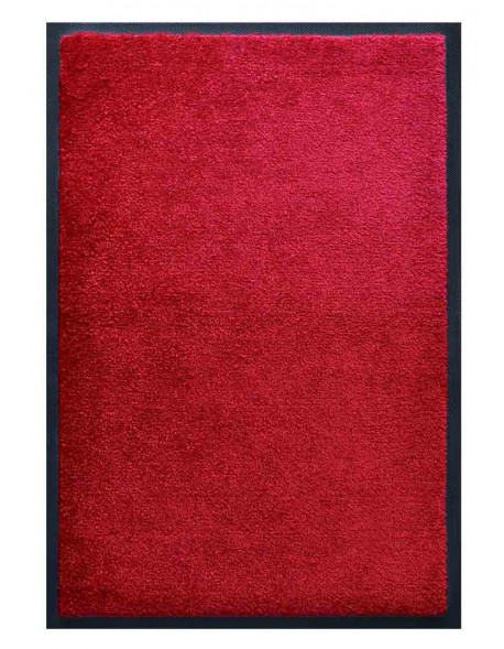 PAILLASSON Haut-de-gamme - Nylon uni fuchsia - Rectangulaire 50 x 75cm