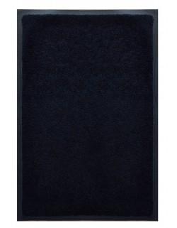 PAILLASSON Haut-de-gamme - Nylon uni noir - Rectangulaire 50 x 75cm