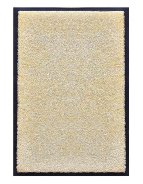 PAILLASSON Haut-de-gamme - Nylon uni blanc - Rectangulaire 50 x 75cm