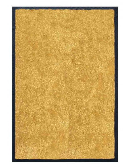 PAILLASSON Haut-de-gamme - Nylon uni jaune - Rectangulaire 50 x 75cm