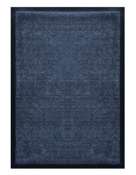 PAILLASSON Haut-de-gamme - Nylon uni anthracite - Rectangulaire 50 x 75cm