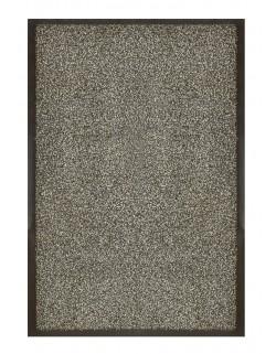 PAILLASSON Haut-de-gamme - Nylon gris chiné - Rectangulaire 50 x 75cm
