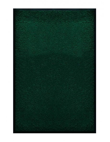 PAILLASSON Haut-de-gamme - Nylon uni vert foncé - Rectangulaire 80 x 120cm