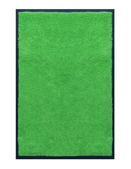 PAILLASSON Haut-de-gamme - Nylon uni vert pomme - Rectangulaire 80 x 120cm