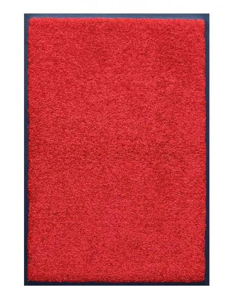 PAILLASSON Haut-de-gamme - Nylon uni rouge - Rectangulaire 80 x 120cm